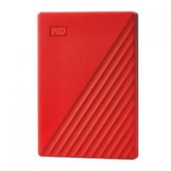 Western Digital - My Passport disco duro externo 2000 GB Rojo