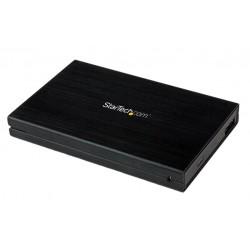 StarTech.com - Caja Carcasa de Aluminio USB 3.0 de Disco Duro HDD SATA 3 III 6Gbps de 2,5 Pulgadas Externo con UASP