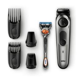 Braun - Base BT7020 depiladora para la barba Negro, Gris