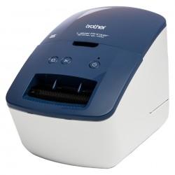 Brother - QL-600B impresora de etiquetas Térmica directa 300 x 600 DPI Alámbrico