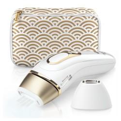 Braun - Silk-expert Pro 81680379 depilación con luz Blanco, Oro Luz pulsada intensa (IPL)