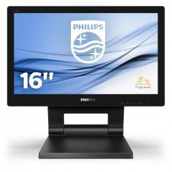 """Philips - 162B9T/00 monitor pantalla táctil 39,6 cm (15.6"""") 1366 x 768 Pixeles Negro"""