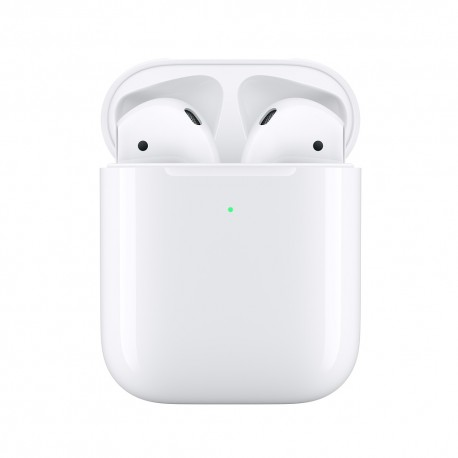 Apple - AirPods 2nd generation MRXJ2ZM/A auricular y casco Auriculares Dentro de odo Blanco