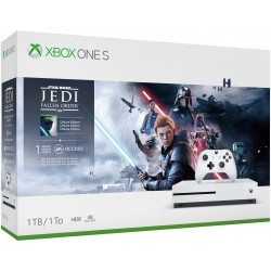 Microsoft - Xbox One S + Star Wars Jedi: Fallen Order Blanco 1000 GB Wifi