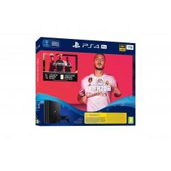 Sony - Playstation 4 Pro + FIFA 20 + Voucher Negro 1000 GB Wifi