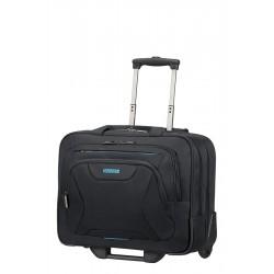 American Tourister - 33G09006 bolsa de equipaje Tranvía Negro Poliéster 22 L