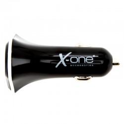 X-ONE - XONE138185 cargador de dispositivo móvil Auto Negro