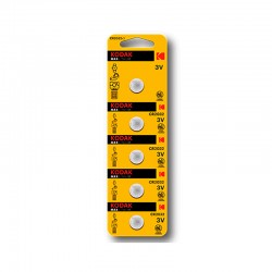 Kodak - KDCR20325 pila doméstica Batería de un solo uso CR2016 Zinc-Manganese Dioxide (Zn/MnO2)