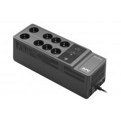 APC - BE850G2-GR sistema de alimentación ininterrumpida (UPS) En espera (Fuera de línea) o Standby (Offline) 800 VA 520 W 8 sali