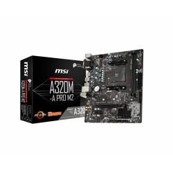 MSI - A320M-A PRO M2 Zócalo AM4 micro ATX AMD A320