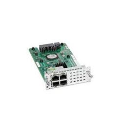 Cisco - NIM-ES2-4 módulo conmutador de red Gigabit Ethernet