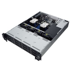 ASUS - RS520-E9-RS12 Intel® C621 LGA 3647 Bastidor (2U) Negro, Acero inoxidable