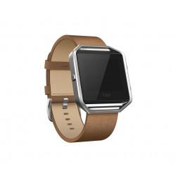 Fitbit - FB159LBCML accesorio de smartwatch Grupo de rock Marrón Cuero