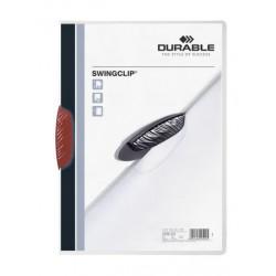 Durable - Swingclip archivador Rojo Polipropileno (PP)