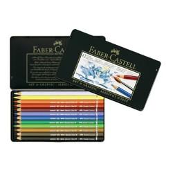 Faber-Castell - 114413 lápiz de grafito 12 pieza(s)