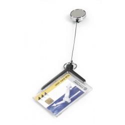 Durable - DELUXE PRO Carrete de acreditación Acrílico 10 pieza(s)