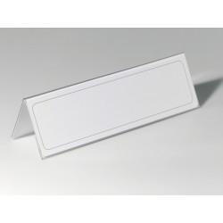 Durable - 8053-19 portanombre no metálico Transparente