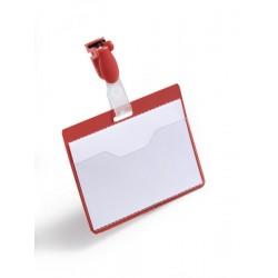 Durable - 810603 insignia/pase Placa identificativa 25 pieza(s)