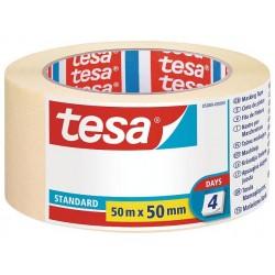TESA - 05089-00000-02 cintas de pintar Cinta de pintor multiusos Apto para uso en interior Adecuado para uso en exteriores Papel