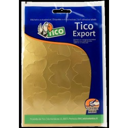 Tico - E-GL-4836 etiqueta autoadhesiva Oro 90 pieza(s)
