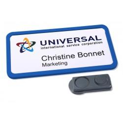 Avery - 4839B-L insignia/pase Placa identificativa De plástico