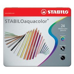 STABILO - aquacolor laápiz de color Multicolor 24 pieza(s)