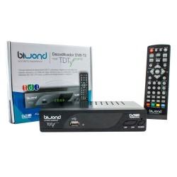 PINBOX - TDT HD Reproductor-Grabador DVB-T2 TDTy + Sound Biwond