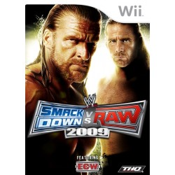 THQ - WWE SmackDown vs. Raw 2009 vídeo juego Wii