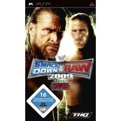 THQ - WWE SmackDown vs. Raw 2009 (PSP) vídeo juego PlayStation Portable (PSP)