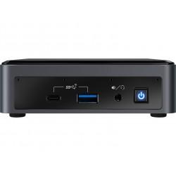 Intel - NUC BXNUC10I7FNK2 PC/estación de trabajo barebone i7-10710U 1,1 GHz UCFF Negro BGA 1528