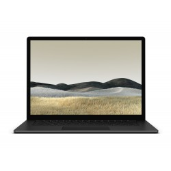 "Microsoft - Surface Laptop 3 Portátil Negro 38,1 cm (15"") 2496 x 1664 Pixeles Pantalla táctil Intel® Core™ i5 de 10ma Generación"