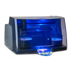 DTM - DP-4202 BLU disc publisher 100 discos USB 3.0 Negro, Azul