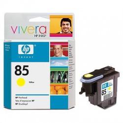 HP - Cabezal de impresión DesignJet 85 amarillo cabeza de impresora
