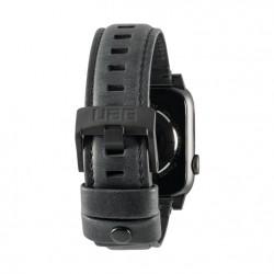 Urban Armor Gear - 19148B114040 accesorio de relojes inteligentes Grupo de rock Negro Cuero, Acero inoxidable