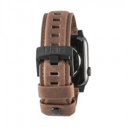 Urban Armor Gear - 19148B114080 accesorio de relojes inteligentes Grupo de rock Marrón Cuero, Acero inoxidable