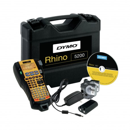 DYMO - RHINO 5200 Kit Transferencia trmica 180 x 180DPI impresora de etiquetas