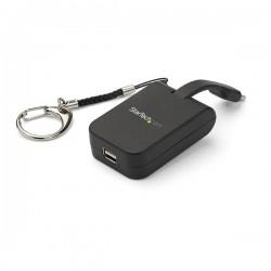 StarTech.com - Adaptador Portátil USB-C a Mini DisplayPort con Llavero de Conexión Rápida