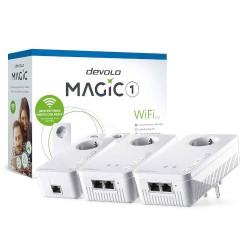 Devolo - Magic 1 WiFi mini 1200 Mbit/s Ethernet Blanco 3 pieza(s)