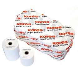 Kores - ROLLO TERMICO 57X40X12 DE 18 METROS SIN BISFENOL A KORES 56654200