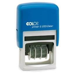 Colop - Printer S 220 Automático Sello de texto/fecha De plástico