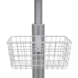 Ergotron - 98-136-216 accesorio de carrito para portátil y ordenador Canasta Blanco