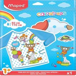 Maped - 820310 babero para pintura Niños Multicolor