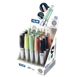Milan - Capsule lápiz mecánico HB 0,5 mm 20 pieza(s)