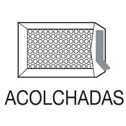 Sam - CAJA 100 BOLSAS AIR BAG ACOLCHADA Nº 16 KRAFT AUTOADHESIVO TAMAÑO MEDIDA INTERIOR 220X340, PESO 41 GRS. SAM 145995