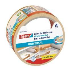 TESA - CINTA ADHESIVA UNIVERSAL DOBLE CARA ESPECIAL MOQUETAS 50MM.X5M. TESA 56170-00007-11