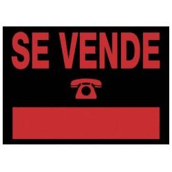 Archivo 2000 - 6162 NE señal de información Carta Negro, Rojo PVC 5 pieza(s)