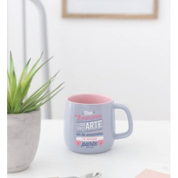 Mr. Wonderful - TAZA CERAMICA-UNA HERMANA CON TANTO ARTE MR. WONDERFUL WOA09827ES