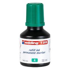 Edding - T25-004 recambio para marcador Verde 30 ml