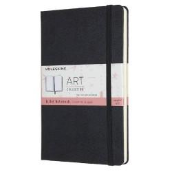 Moleskine - ARTBULNT3 agenda Agenda diaria 120 páginas Negro