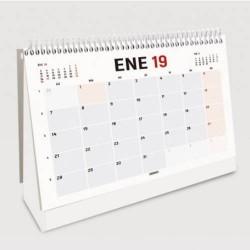 Ingraf - CALENDARIO TRIANGULAR SOBREMESA PARA ESCRIBIR 2020 CASTELLANO (80191) INGRAF 350461